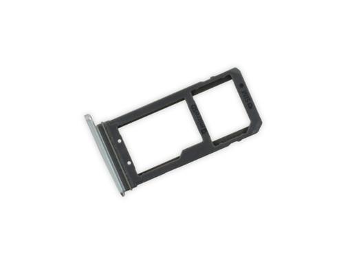 OEM Sim Card Holder Micro SD Card Tray For Samsung Galaxy S7 Edge G935 Silver