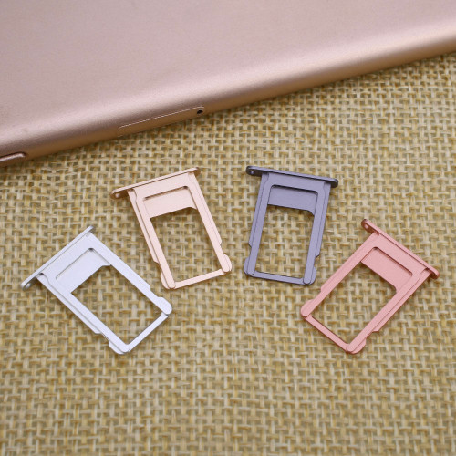 OEM SPEC Sim Card Holder Tray Metal Slot For iPhone 6G 6 Plus iPhone 6S 6S Plus