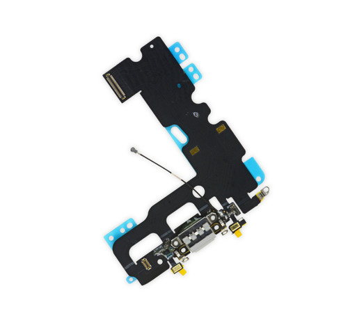 OEM SPEC Charging Dock Port Flex Cable Mic Antenna For iPhone 7 4.7'' White NEW