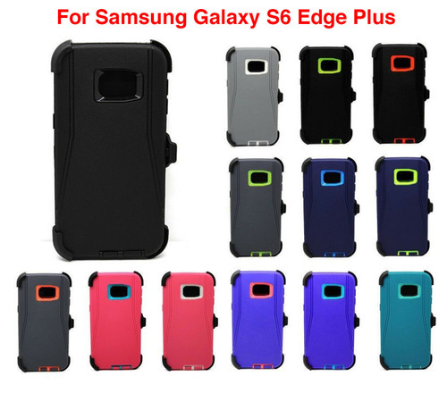 For Samsung Galaxy S6 Edge+ Plus Case Cover (Fits Otterbox Defender Belt Clip)
