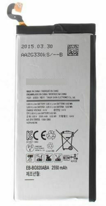 OEM SPEC Battery Replacement EB-BG920ABE 2550 mAh For Samsung Galaxy S6 G920 NEW