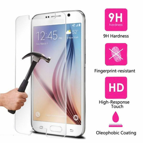 High Quality Real Premium Tempered Glass Screen Protector for Samsung Galaxy S6