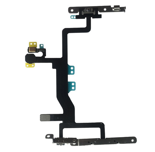 OEM SPEC Power Volume Switch Button Flex Cable Replacement For iPhone 6S 4.7""