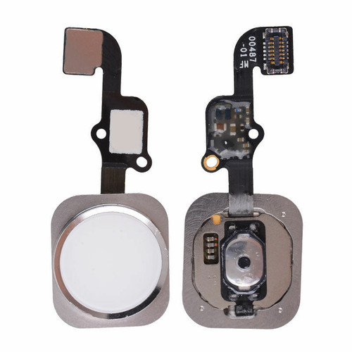 OEM White Home Button Main Key Flex Cable For Apple iPhone 6S 4.7'' & Plus 5.5''