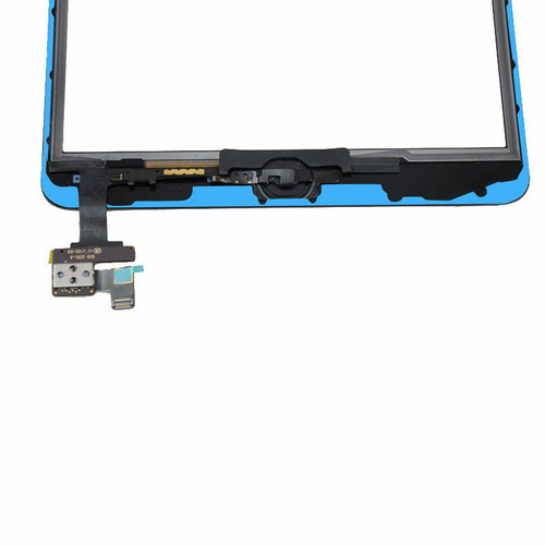 OEM SPEC Black Touch Glass Digitizer Screen Home Button IC For iPad Mini 1 2 NEW