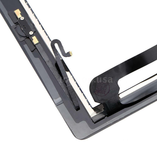 OEM SPEC Black Glass Touch Screen Digitizer Home Button For iPad 4 4th Adhesive