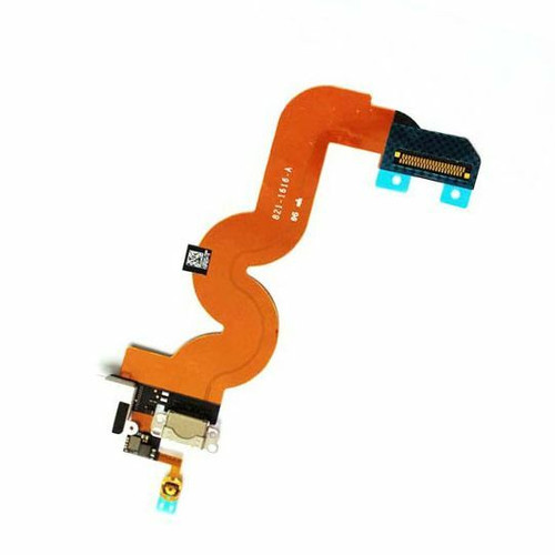 White Charger Charging Dock Port Audio Jack Flex Cable For iPod Touch 5 5th Gen