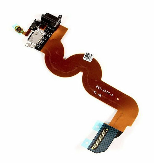 Black Charger Charging Dock Port Audio Jack Flex Cable For iPod Touch 5 5th Gen