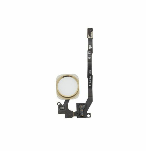 OEM SPEC Gold Home Button Flex Cable Touch ID Sensor Assembly For iPhone 5S