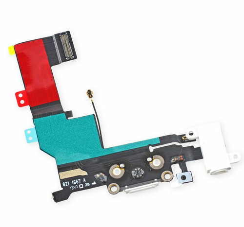 OEM SPEC Charging Port Dock Connector Headphone Mic Flex Cable For iPhone 5S NEW