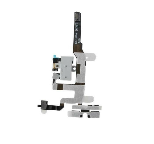 OEM SPEC Headphone Audio Volume Jack Connector Flex White For iPhone 4S 4GS USA