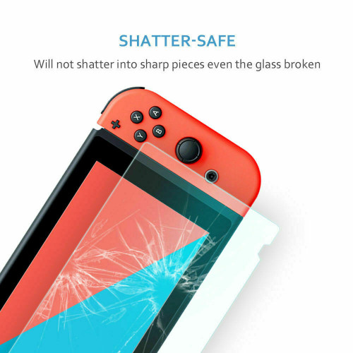 2 Pack For Nintendo Switch Premium Tempered Ultra Clear Glass Screen Protector