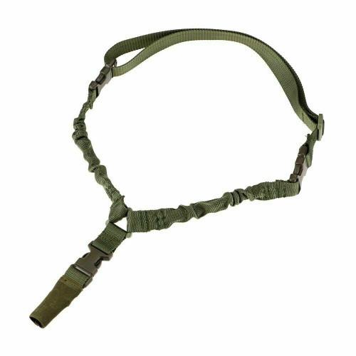 Heavy Duty Tactical Single Point Gun Rifle Sling Adjust & Quick Detach QD Buckle