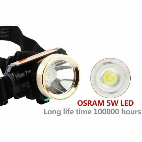 5000LM T6 LED Rechargeable USB Waterproof Headlight HeadLamp Head Light Charger
