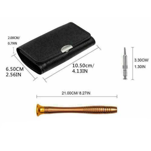 25 in 1 Repair Tool Set Screwdriver Wallet Kit For Macbook Pro Air Smart Phones