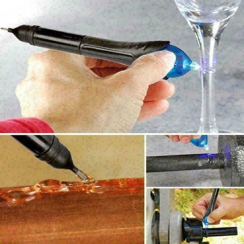 5 Second Fix Pen UV Light Repair Glue Refill Liquid Welding Multi-Purpose Kit