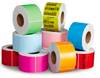 """Zebra 4"""" x 6"""" Color Direct Thermal Labels 520383"""