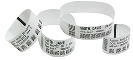 Zebra 10015355K Patient Wristbands for ZD510-HC and HC100