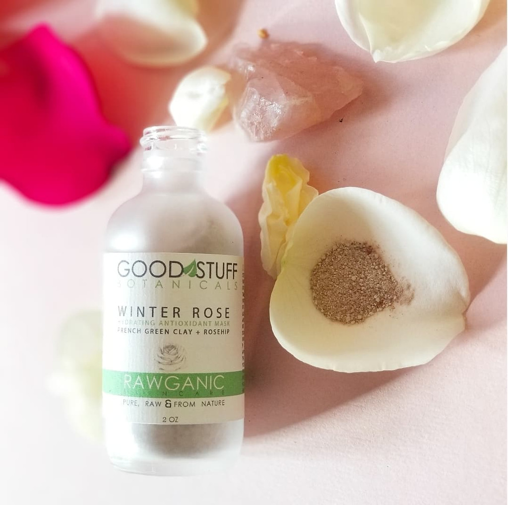 Winter Rose Face Mask