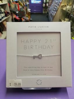 Happy 21st Bracelet