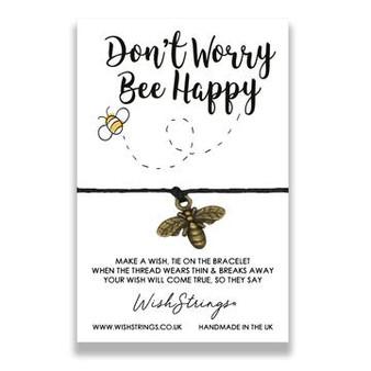 Bee Happy Wishstrings