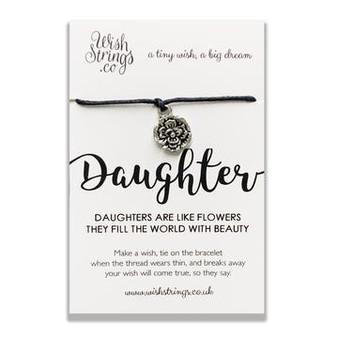 Daughter Wish String