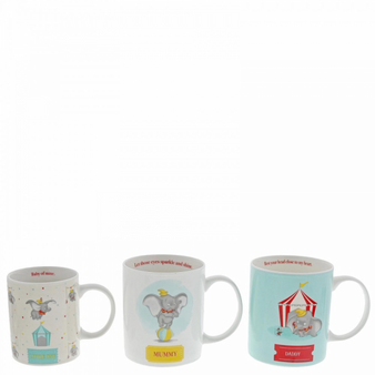 Dumbo family mug set
