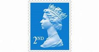 2nd Class Stamp
