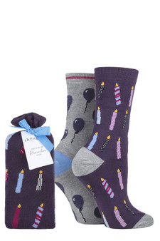 Ladies Birthday Socks
