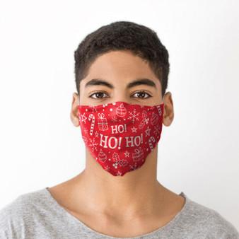 Ho Ho Ho Facemask