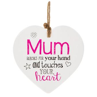 Mum Ceramic Heart