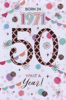 50th Birthday  - Female