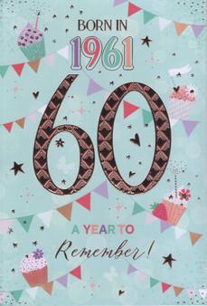60th Birthday  - Female