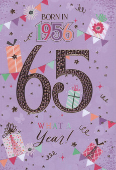 65th Birthday  - Female