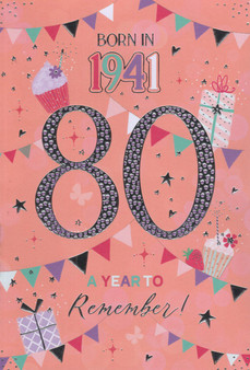 80th Birthday  - Female