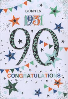 90th Birthday  - Male