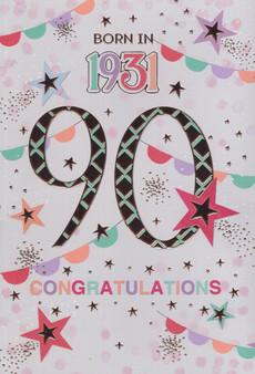90th Birthday  - Female