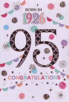 95th Birthday  - Female