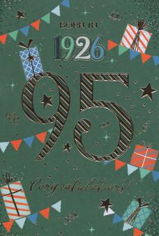 95th Birthday  - Male