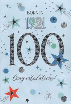 100th Birthday  - Male