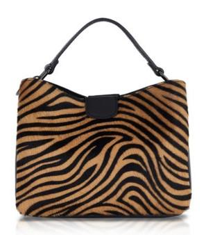Tiger Leather Bag