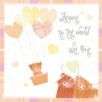 Welcome to the World by Pink Pig