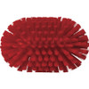 Vikan Medium Stiffness Tank Brush in Red (Top View)
