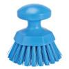 Vikan 3885 Round Scrub Brush in Blue