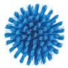 Vikan 3885 Round Scrub Brush in Blue (Bottom View)