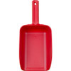 Large 82 oz. Color-Coded Scoop in Red (Front View)