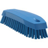 Vikan 3587 Small Hand Brush Soft Bristles in Blue (Top View)