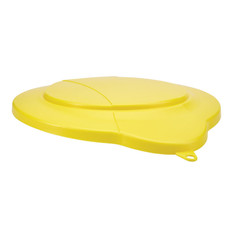 Vikan 5687 3 Gallon Bucket/Pail Lid in Yellow
