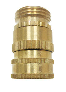 "SANI-LAV N19 Brass Quick Disconnect w/ 3/4"" GHT"