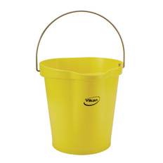Vikan 5686 3 Gallon Bucket/Pail in Yellow